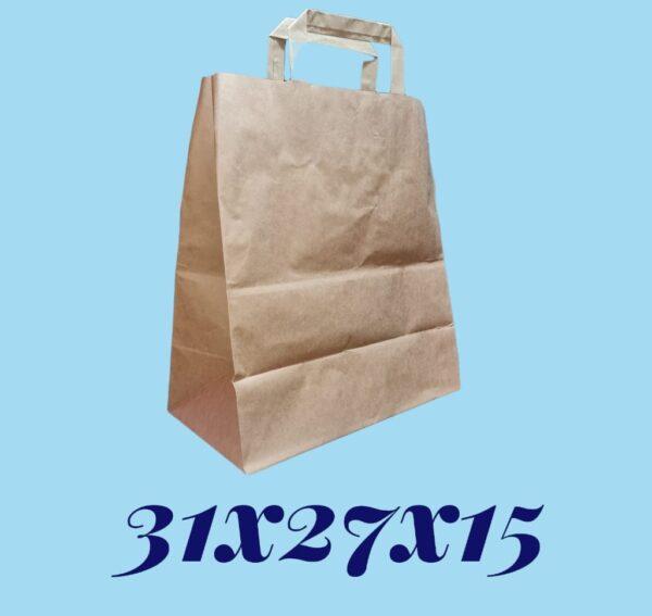 bolsa manilla papel 31x27x15